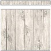 White Wood Straight Border Trim - Classroom Display