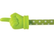 Lime Polka Dot Hand Pointer