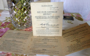 1941 Raf Capture Do Not Carry Guide World War Two Card Ww2 Classroom History Bn