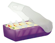 Han 998-673, Croco Flashcard Index Box. For Learning Vocabulary In An Simple A8,