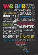 We Are... Inspire U Poster - Classroom Motivational Poster