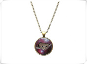Space jewellery Meme necklace Cat from another dimension pendant