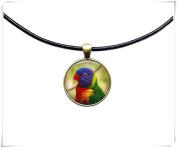 Parrot necklace Animal jewellery Bird pendant