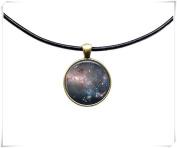 Milky Way jewellery Astronomy necklace Galaxy pendant