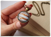 Space Jewellery Planet Necklace Cosmic Necklace Galaxy Jewellery