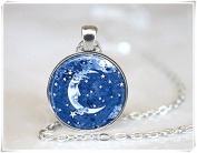 Celestial Necklace Moon Jewellery Celestial Jewellery
