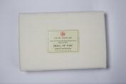"John Mercer 100% Soft Cotton Honeycomb Blanket Throw, Waffle Design, Tassel Edge, W50"" x L60"""