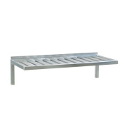 Newage Industrial 1121 T-Bar Wall Shelf, 50cm Diameter x 90cm Length