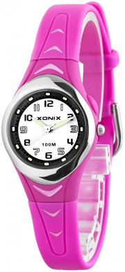Analogue XONIX Watch, Women's and Girls', Backlight, Water Resistant 100M, IT/11