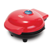 Dash DMW001RD Mini Waffle Maker, Red