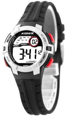 Digital XONIX Watch - Women's and Kids' - Modern Design, Water Resistant 100m, DP74MIR/7