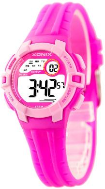 Digital XONIX Watch - Women's and Kids' - Modern Design, Water Resistant 100m, DP74MIR/2