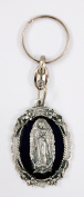 Our Lady of Guadalupe Christian Catholic key ring with enamel colours