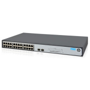 HP OfficeConnect 1420 24G 2SFP+ Unmanaged Ethernet Switch, 24 Port RJ-45 GbE, 2 Port 10G SFP+,