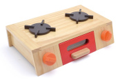 Product for children of the playing house cooker gas stand kitchen counter G05-1133 kitchen article wooden toy wooden playing house first playing house series WOODYPUDDY dinghy cognitive education toy food education woman