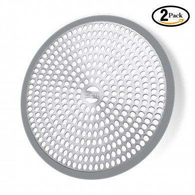 Lekeye Easy Clean Shower Stall Drain Protector Hair