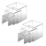 Adorox Top Quality Clear Acrylic Display Riser
