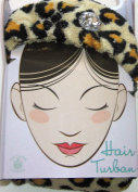Ladies Hair Turban Luxury Microfiber Animal Print