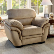 Furniture of America CM6503LB-CH Jaya Light Brown Chair Not Applicable, 100cm H