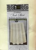 Fabric Sink Skirt Mosaic Stitch Ivory