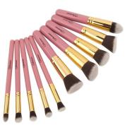 Soobest Professional Beauty Cruelty Free Kabuki Synthetic Makeup Brushes Set Cosmetics Makeup Brushes Kit