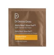 Dr Dennis Gross Alpha Beta Glow Pad Gradual Self Tanner for Face 20 Treatments