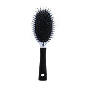 Studio Dry Metallic Periwinkle Cushion Hair Brush