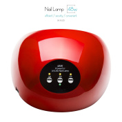 Gellen 48W Powerful UV LED Nail Lamp, Sensor and Super Fast Dry, with 10s/30s/60s Memory Timers, Smart Fan for Over-Temperature Protection