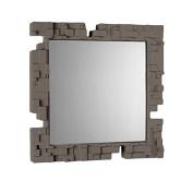 Slide Pixel Mirror Argil Grey