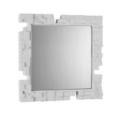 Slide Pixel Mirror Milky White