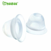 Haakaa Silicone Inverted Nipple Corrector, 2 pk BPA, PVC and Phthalate Free