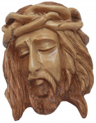 Jesus Christ crucifixion wall plaque   Bethlehem Olive wood carvings