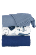Tula Baby Blanket - Music Lessons - 3-pack