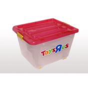Toys, toy box (Pink)
