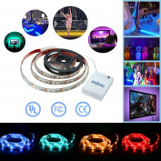 Simfonio Led Strip Lights Battery Operated Led Lights 1m 5v 30leds Multicolor...