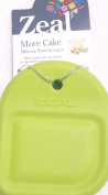 Zeal Silicone Bowl Scrapper Green