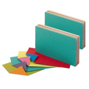 Oxford Extreme Index Cards, 7.6cm x 13cm , Assorted Colours