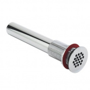 DECOLAV 9296-CP Grid Drain without Overflow, Polished Chrome
