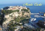 Monte Carlo, Monaco, Marina, Ocean, Quarter, Souvenir Magnet 2 x 3 Photo Fridge Magnet