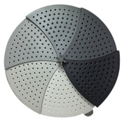 Fusionbrands 8104-Gry Collapsible Splatter Spinout Screen, Grey
