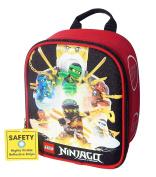 LEGO NINJAGO WU-CREW Lead-Safe Insulated Vertical Lunch Tote Box Bag