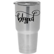 YETI sticker - Blessed - cute love dream sticker decal