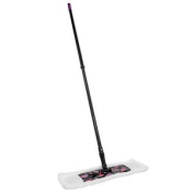 Charles Bentley Flat Microfibre Cleaning Kitchen Mop With Handle Floral Pattern