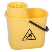Yellow Heavy Duty Mop Bucket   12 Litre