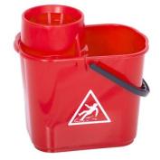 Red Heavy Duty Mop Bucket   12 Litre