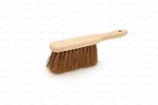 Soft Natural Bassine Bristle Bannister Hand Brush Sweeping Broom Wood