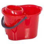 Red 15 Litre Mop Bucket