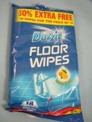 18 Floor Cleaning Wipes, Lemon Fresh Duzzit Range Dzt01