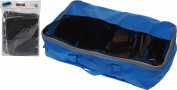 Foldable Breathable Travel Shoe Organiser Bags Space Saving Storage Mesh Window