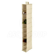 Wardrobe / Closet Tidy 10 Section Shoe Footware Organiser Shoes Slippers Etc